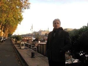 Paris, France 2009 along the Seine River