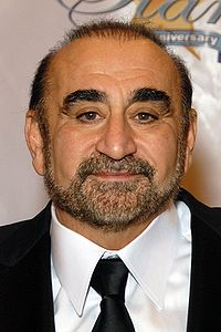 "Ken Davitian-Partner to the movie character ""Borat."" At some point in the film (which I long resisted watching), I realized this guy was spewing Armenian."
